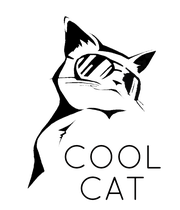 COOL CAT - Personalised Large Wall Decal