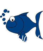 CRAZY   FISH LADY - Personalised Poster large