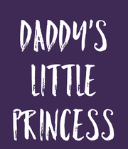 Daddy's Little Princess - Personalised Large Wall Decal