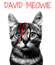 DAVID MEOWIE - Personalised Poster large