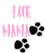 Fur MAMA     - Personalised Poster large
