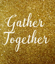Gather  Together - Personalised Large Wall Decal