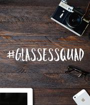 #glassessquad - Personalised Poster large