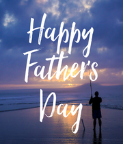 Happy Father's Day - Personalised Poster large