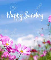 Happy Sunday    - Personalised Poster large