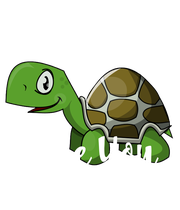 I Turtley   Love You  - Personalised Poster large