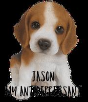 Jason My Antidepressant - Personalised Poster large