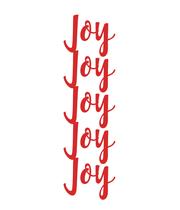 Joy Joy Joy Joy Joy - Personalised Poster large
