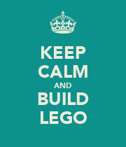 KEEP CALM AND BUILD LEGO - Personalised Large Wall Decal