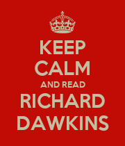 KEEP CALM AND READ RICHARD DAWKINS - Personalised Large Wall Decal