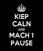 KIEP CALN AND MACH 1 PAUSE - Personalised Large Wall Decal
