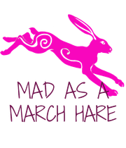 MAD AS A MARCH HARE - Personalised Poster large