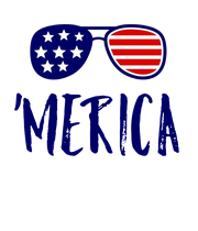 'MERICA - Personalised Large Wall Decal