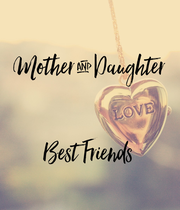 Mother & Daughter   Best Friends - Personalised Large Wall Decal
