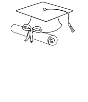 SENIOR 2017 - Personalised Large Wall Decal