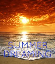 SUMMER DREAMING - Personalised Poster large