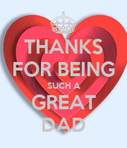 THANKS FOR BEING SUCH A GREAT DAD - Personalised Large Wall Decal