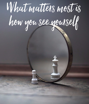 What matters most is how you see yourself - Personalised Large Wall Decal