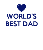 WORLD'S BEST DAD    - Personalised Large Wall Decal