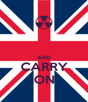 AND CARRY ON - Personalised Poster A1 size