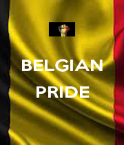 BELGIAN  PRIDE  - Personalised Poster A4 size