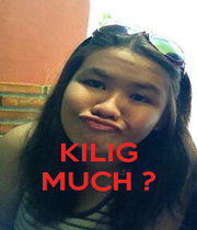 KILIG MUCH ? - Personalised Poster A4 size