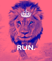 RUN. - Personalised Poster A4 size
