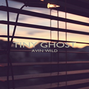 TINY GHOST AVIN WILD   - Personalised Poster A4 size