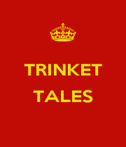 TRINKET  TALES  - Personalised Poster A4 size