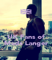 UK Fans of Mads Langer - Personalised Poster A1 size