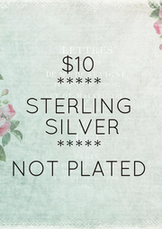 $10 ***** STERLING  SILVER ***** NOT PLATED - Personalised Poster A1 size