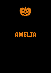 AMELIA    - Personalised Poster A1 size