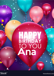 Ana  - Personalised Poster A1 size