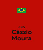 AND Cássio Moura - Personalised Poster A1 size