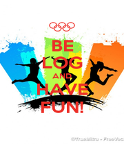 BE LOG AND HAVE FUN! - Personalised Poster A1 size