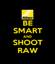 BE SMART AND SHOOT RAW - Personalised Poster A1 size