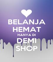 BELANJA HEMAT HANYA DI DEMI SHOP - Personalised Poster A1 size