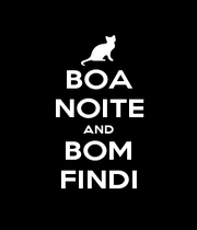 BOA NOITE AND BOM FINDI - Personalised Poster A4 size