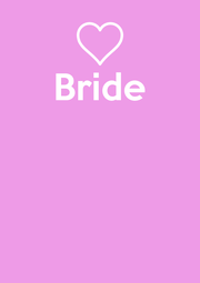 Bride     - Personalised Poster A4 size