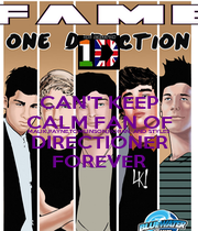 CAN'T KEEP CALM FAN OF MALIK,PAYNE,TOMLINSON,HORAN, AND STYLES DIRECTIONER FOREVER - Personalised Poster A1 size