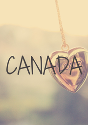 CANADA - Personalised Poster A4 size