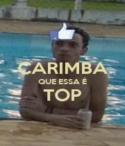CARIMBA QUE ESSA É TOP  - Personalised Poster A1 size