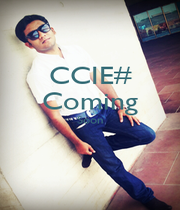 CCIE# Coming Soon   - Personalised Poster A1 size