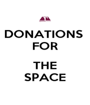 DONATIONS  FOR  THE SPACE - Personalised Poster A1 size