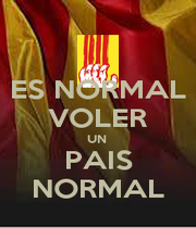ES NORMAL VOLER UN  PAIS NORMAL - Personalised Poster A1 size
