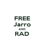 FREE Jarro AND RAD  - Personalised Poster A4 size