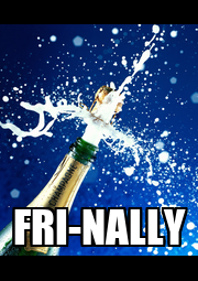 FRI-NALLY - Personalised Poster A4 size