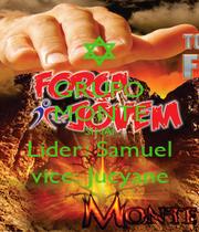 GRUPO MONTE SINAI Lider: Samuel vice: Jucyane - Personalised Poster A1 size