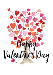 Happy Valentine's Day - Personalised Poster A4 size