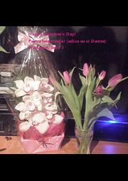 Happy Valentine's Day! Pentru fetele mele! (adica eu si Danina) Multumim, tatiti ! - Personalised Poster A4 size
